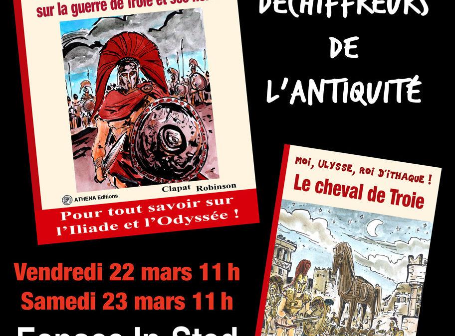 Conférence de Clapat et Robinson au Festival International Latin Grec à Lyon